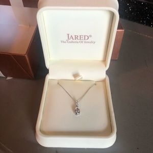 Diamond Necklace with original box and gift box